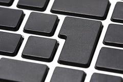 Empty Computer keyboard Stock Photos