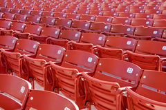 Empty Concert Chairs Stock Images
