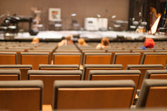 Empty concert hall Royalty Free Stock Images