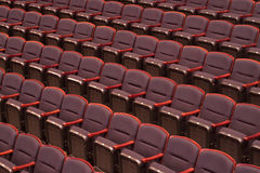 Empty Concert Hall Seats Royalty Free Stock Image