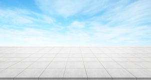 Empty concrete floor top for display or montage product royalty free stock photography