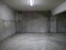 Empty concrete room Royalty Free Stock Photos
