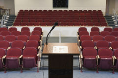 Empty Conference Auditorium Royalty Free Stock Photography