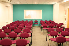 Empty conference hall. Ready for people Royalty Free Stock Photos