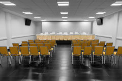 Empty conference hall Stock Photos