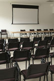 Empty conference room. Interior shot of Empty conference room Royalty Free Stock Image