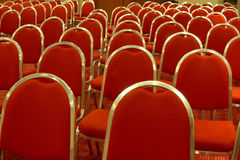 Empty conference room. Ready for audience Royalty Free Stock Image
