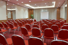 Empty conference room. Ready for audience Royalty Free Stock Images