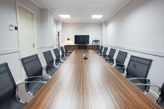 Empty conference room Stock Photography