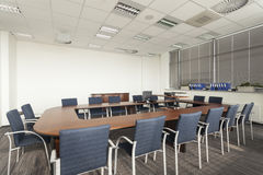 Empty conference room Royalty Free Stock Photos