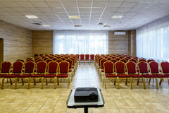 Empty conference room Stock Photos