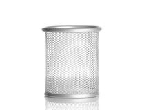Empty container isolated, object office. On white background with space for text Royalty Free Stock Photography
