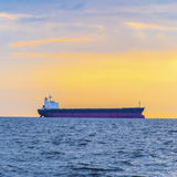 Empty container ship Royalty Free Stock Image