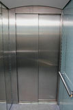 Empty contemporary elevator Stock Photo