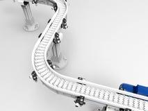 Empty conveyor belt Royalty Free Stock Photography