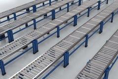 Empty conveyor belt Stock Images