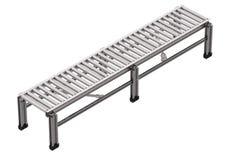 Empty conveyor belt Royalty Free Stock Photo
