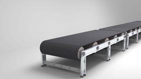 Empty conveyor belt Royalty Free Stock Photos