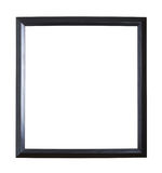 Empty copyspace wooden picture frame isolated Royalty Free Stock Images