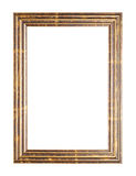Empty copyspace wooden picture frame isolated Stock Photography