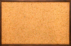 Empty cork board. Entire empty brown cork board Stock Image