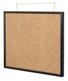 Empty cork board. Empty cork board hanging Stock Photos