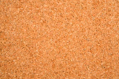 Empty cork board. Photo of texture of an empty cork board Royalty Free Stock Photo