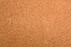 Empty cork board. Photo of texture of an empty cork board Royalty Free Stock Images