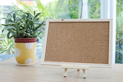 Empty cork board Royalty Free Stock Image