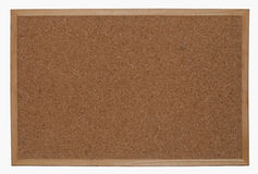 Empty cork bulletin board Stock Images
