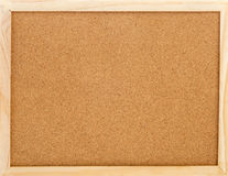 Empty cork memo board Royalty Free Stock Photos