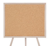 Empty corkboard isolated on white Stock Photo