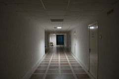 Empty Corridor Stock Photography