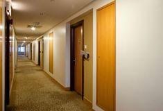 Empty corridor Royalty Free Stock Photos