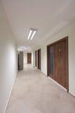 Empty corridor Stock Photos