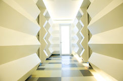 Empty corridor Royalty Free Stock Photo