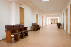 Empty corridor Royalty Free Stock Images