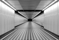 Empty Corridor Royalty Free Stock Photography