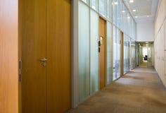 Empty corridor Stock Image