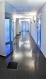 Empty Corridor In A Hospital Or Office Building Stock Photography