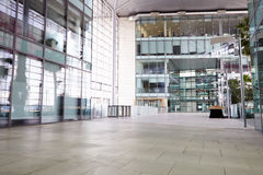 Empty corridor of a large corporate business Royalty Free Stock Photo