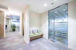 Empty corridor in modern office Royalty Free Stock Photo