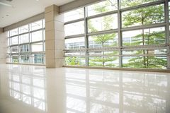 Empty corridor Stock Photography