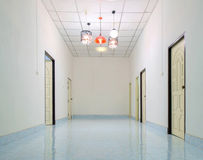 Empty corridor. Stock Images