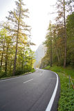 Empty countryside road Royalty Free Stock Photos