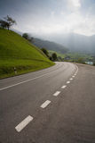 Empty countryside road. Picture of empty countryside road Stock Image