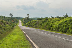 Empty countryside road. Picture of empty countryside road Royalty Free Stock Photo