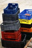Empty crates Royalty Free Stock Image