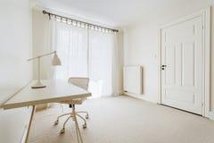 Empty cream room Stock Photo