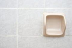 Empty cream tissue holder Stock Photography